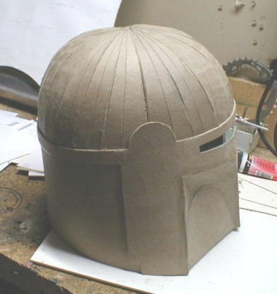 Fabriquer un casque pour un costume/déguisement- Remplissage du dôme