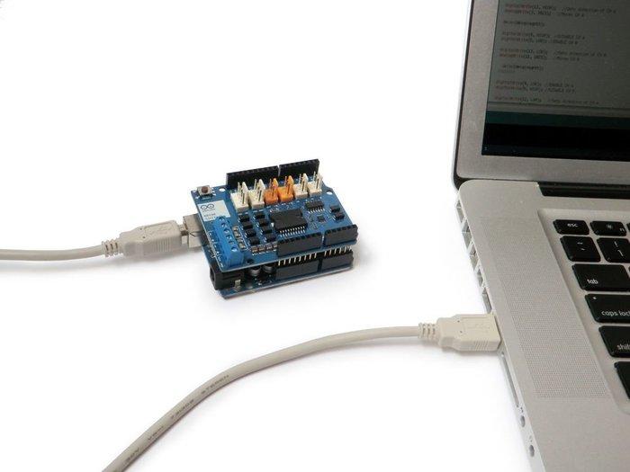 Débuter avec le module moteur Arduino- Programme