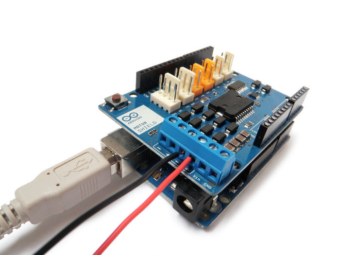 Débuter avec le module moteur Arduino- Un moteur