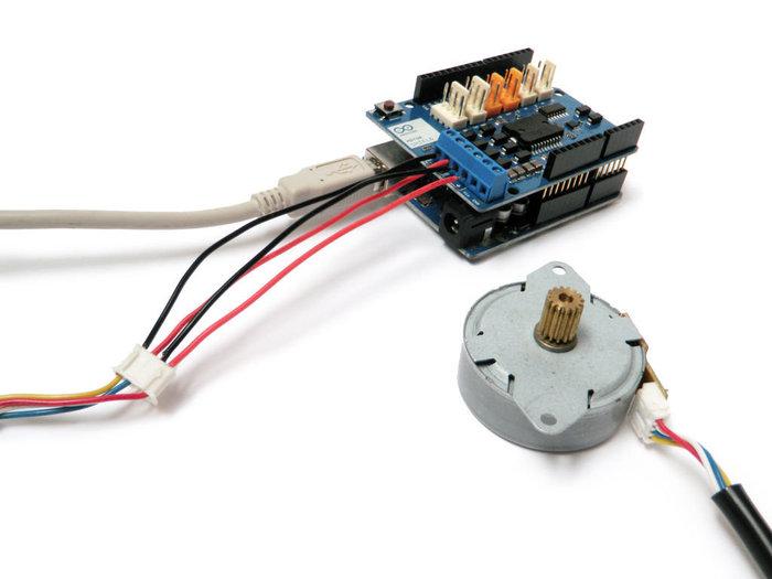 Débuter avec le module moteur Arduino- Moteur pas à pas
