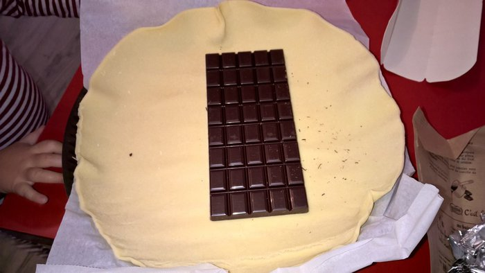 Comment préparer un feuilleté au chocolat en 5 minutes-Étape 1