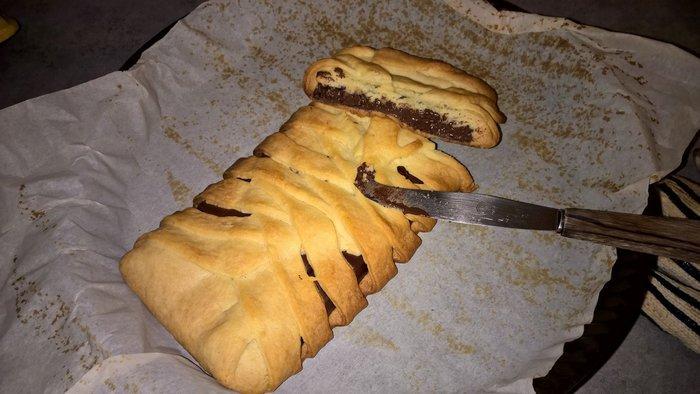 Comment préparer un feuilleté au chocolat en 5 minutes-Étape 2