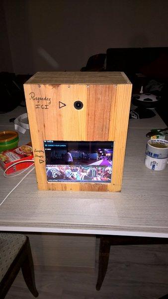 Comment fabriquer une video box-Étape 6