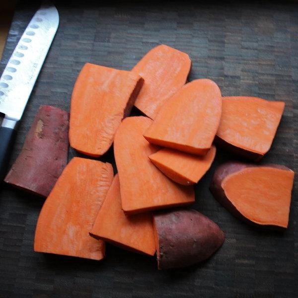 Frites de patates douces au four-Étape 2