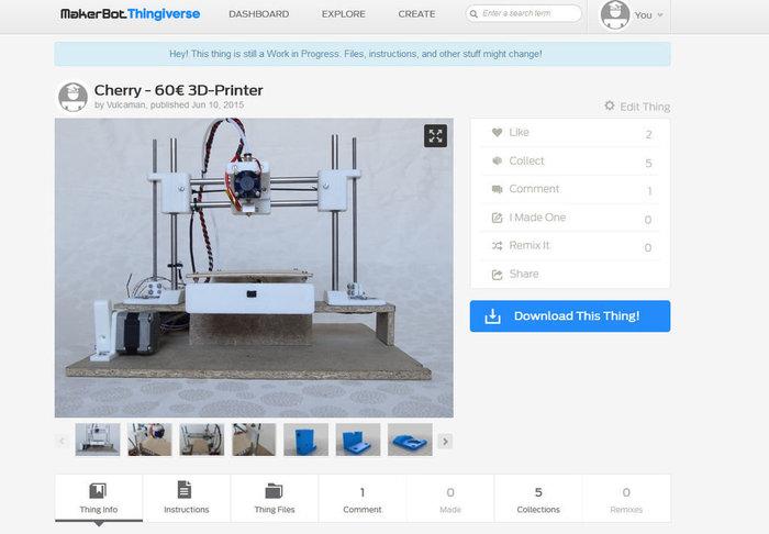 Imprimante 3D Cherry: 60€ !-Étape 8