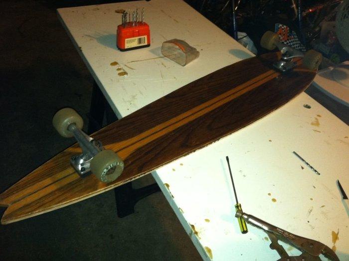 Fabriquer un longboard-Étape 7