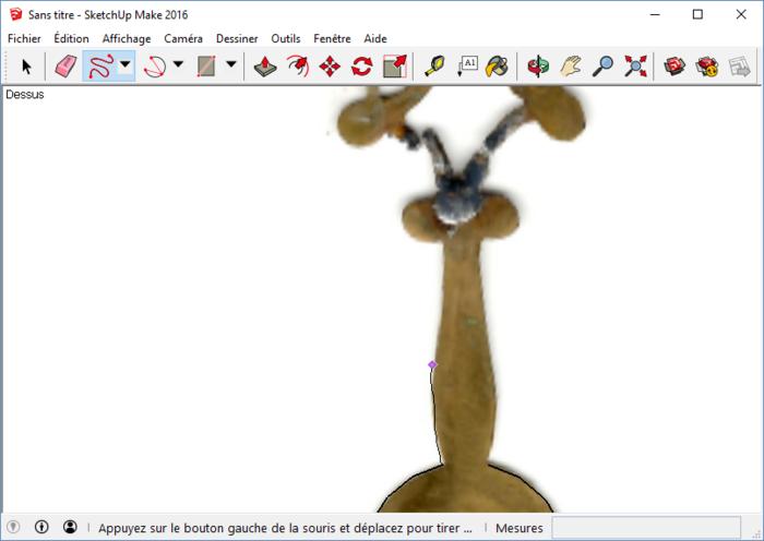 Ne jeter plus vos appareils, réparer les, en 3D-Numérisation du profil de l'aiguille