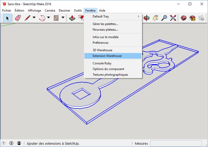 Ne jeter plus vos appareils, réparer les, en 3D-Installation de l'extension STL