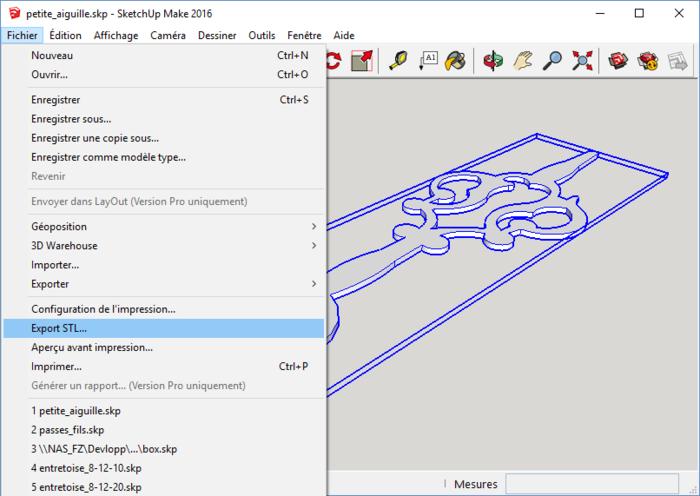 Ne jeter plus vos appareils, réparer les, en 3D-Exportation au format STL
