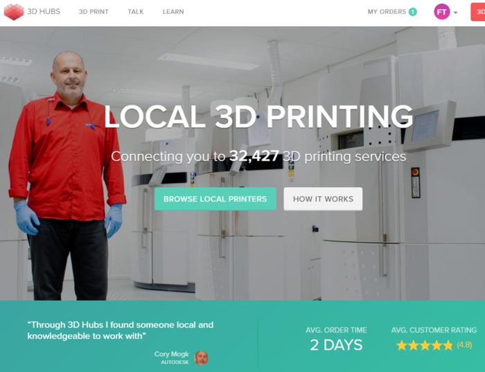 Ne jeter plus vos appareils, réparer les, en 3D-Solution d'impression en ligne