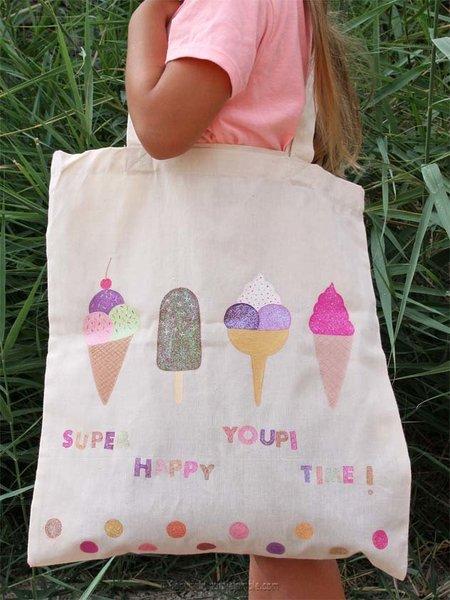 Un tote bag customisé pour l'été-Et voilà le résultat final !
