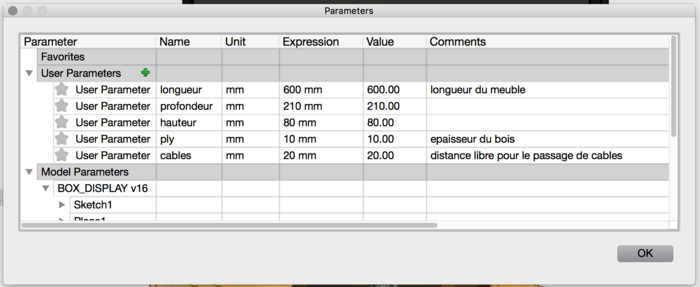 Support pour écran de PC fixe-Modifiez les paramètres