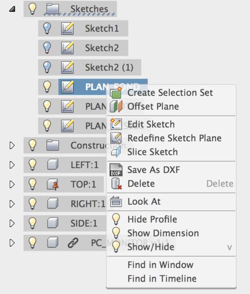 Support pour écran de PC fixe-Générer les fichiers DXF