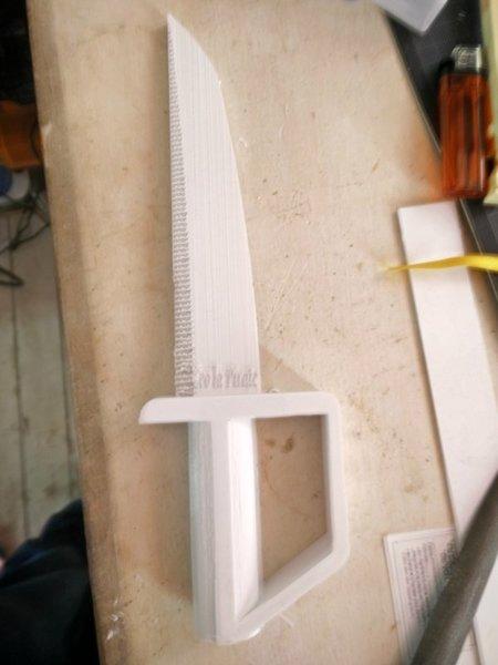 épée 3D-Impression / peinture