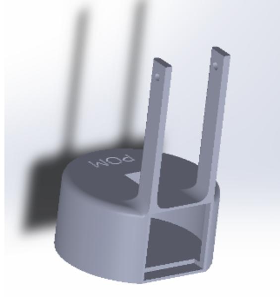 POM-Comment POM a-t-il été dessiné sur le logiciel Solidworks ?