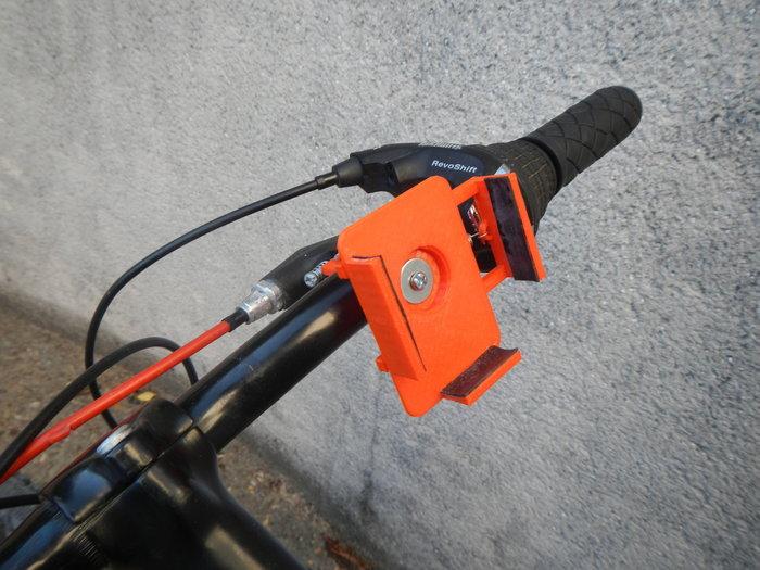 Support Smartphone pour Vélo-Le titre de votre étape ici