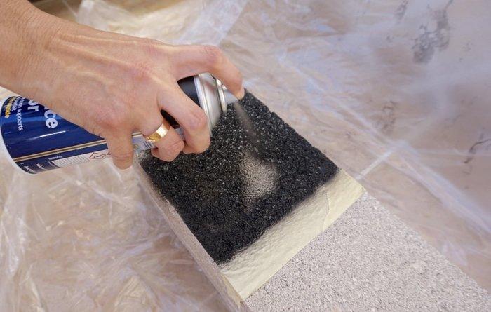 Recyclez vos parpaings en jardinière -Peindre les parpaings