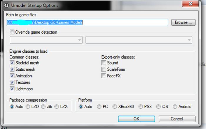Extraire des modèles de jeux vidéos pour l'impression 3d-Début des choses sérieuses : L'Extraction !