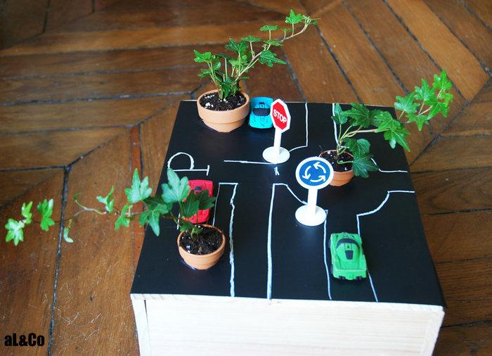 le mini plateau de jeu végétalisé-On joue ?