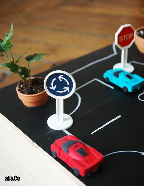 le mini plateau de jeu végétalisé-Et on recommence…
