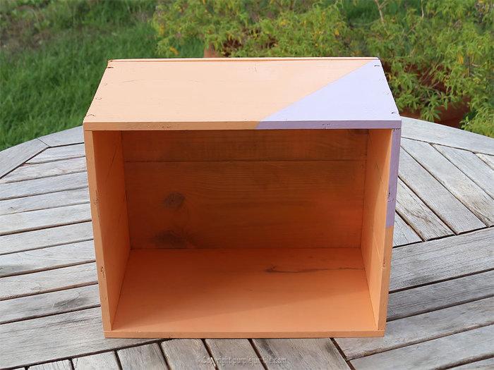 Un petit jardin suspendu-Décorer l'intérieur de la caisse