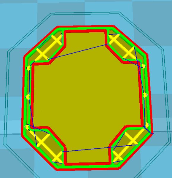 Clips 3D pour raquette de tennis-Paramètres d'impression