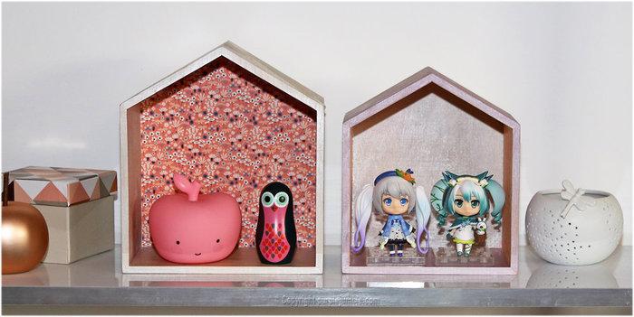 Des étagères maisons en bois customisées-Installer les étagères