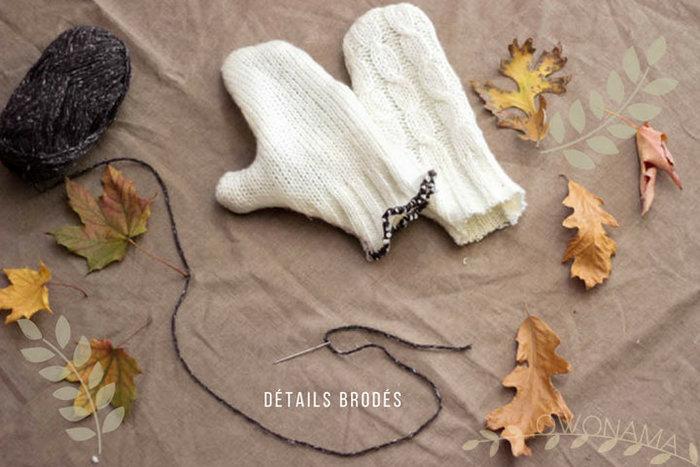 Bien au chaud pour l'automne-Un peu de main, tient!
