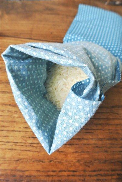 Bouillotte Sèche avec du riz-Le titre de votre étape ici