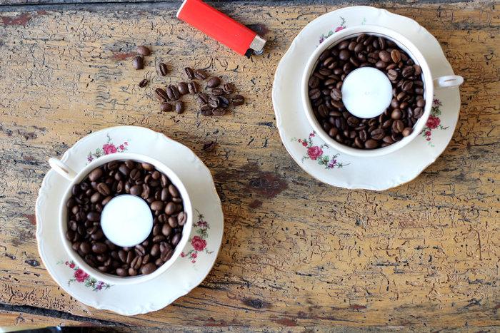 Une odeur de café ...-Allumez vos bougies ...