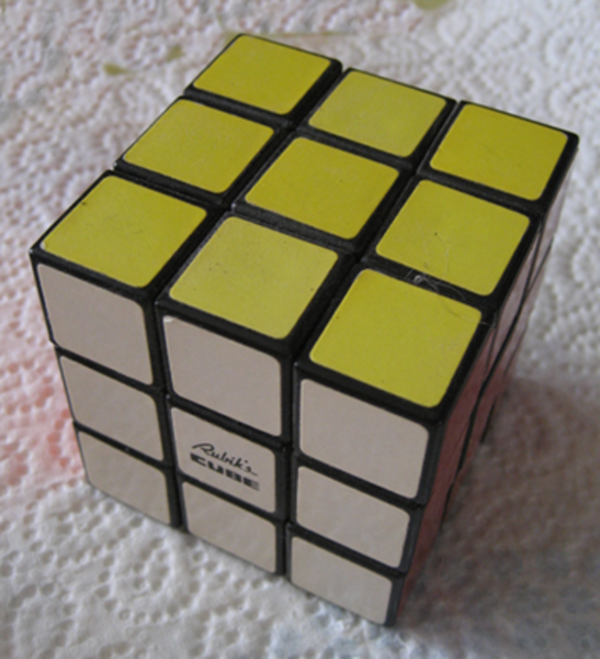 résoudre Rubic'CUBE avec Cube Explorer-exemple de figure possible