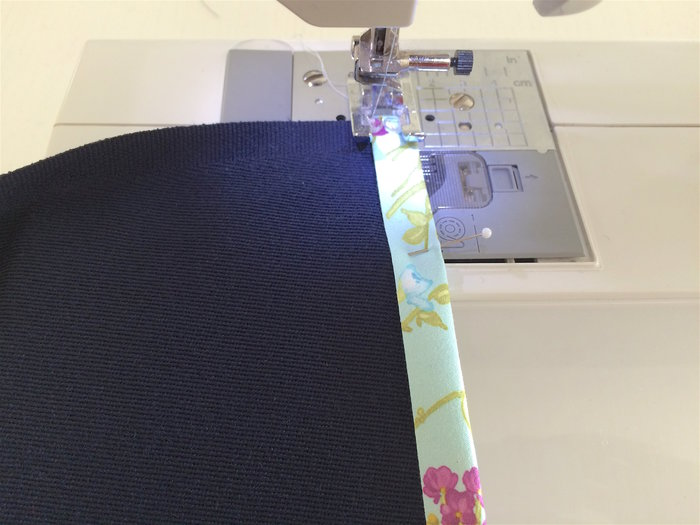 Un plaid coloré-Préparation du plaid