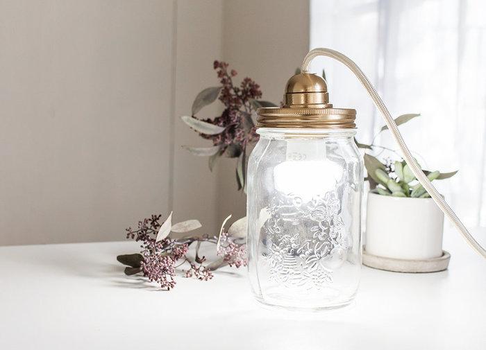 Ma lampe Mason Jar-Le titre de votre étape ici