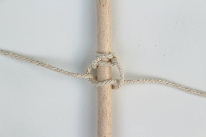 Cuillères en bois et macramé-Le titre de votre étape ici