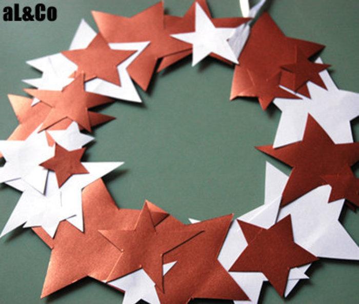 la couronne d'étoiles cuivrées-et voilà !