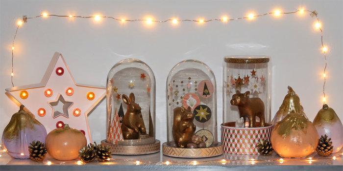"""Noël cuivré et forêt enchantée-Installer le décor pour créer une petite """"forêt enchantée"""""""