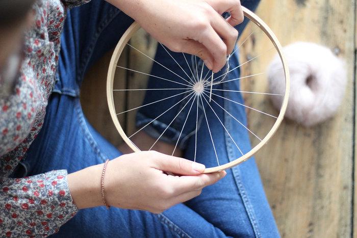 DIY : Le tissage circulaire !-5ème étape