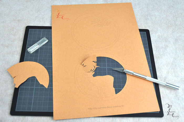 Créez votre décor de papiers découpés-Découpez vos décors en papier :
