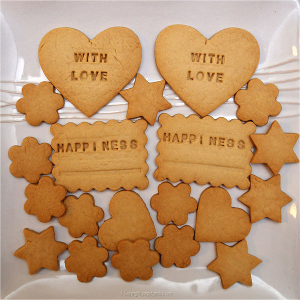 Mes Happy Biscuits -Préparer les biscuits