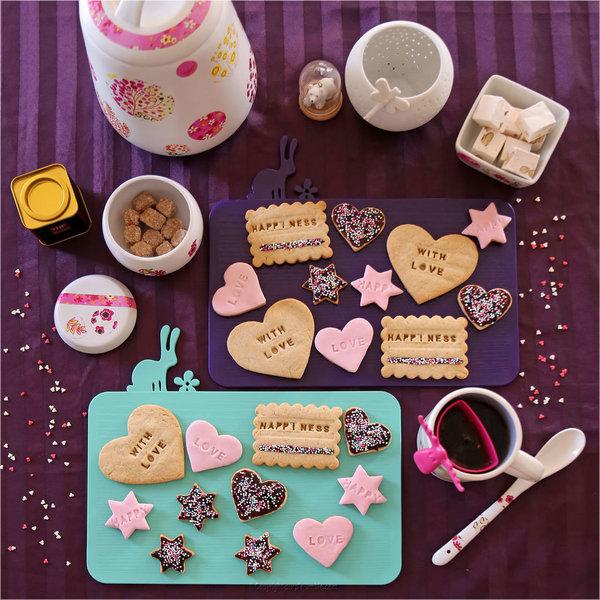 Mes Happy Biscuits -Et faire une jolie présentation
