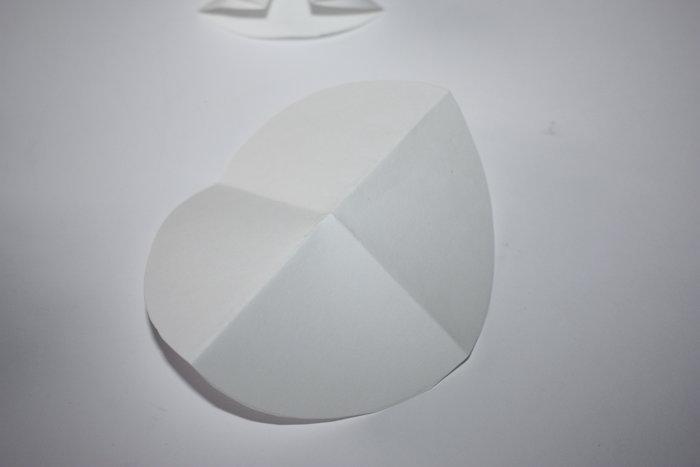 Les sapins en papier inratables !-Tracer les cercles
