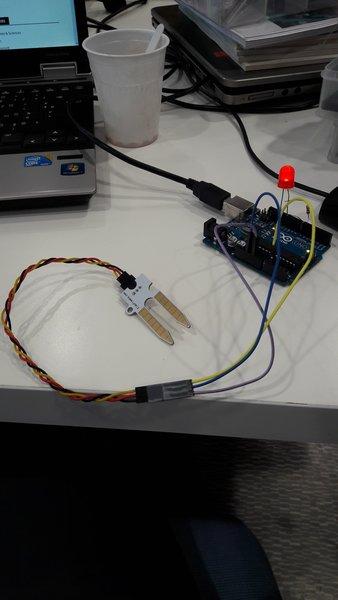 Arduino Uno - Capteur d'humidité au sol.-capteur d'humidité