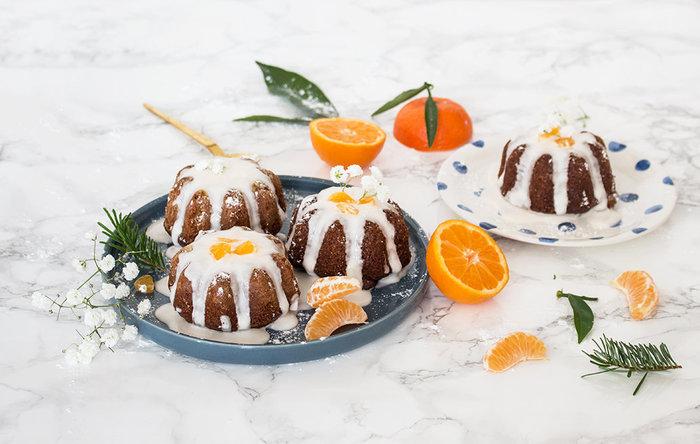 Bundt cakes de Noël Châtaigne & Clémentine-Le titre de votre étape ici