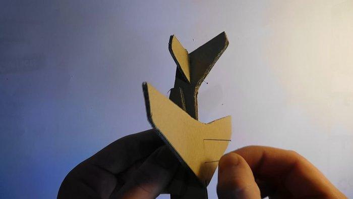 Fabriquer un Alphajet en carton-Assemblage