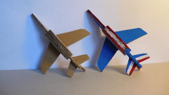 Fabriquer un Alphajet en carton-The end