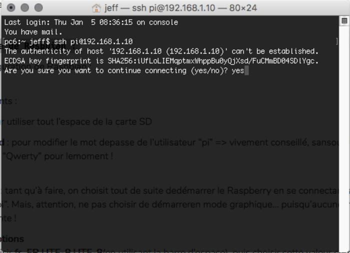 Un Tableau de Bord numérique – v2 !-Installer et paramétrer Raspbian