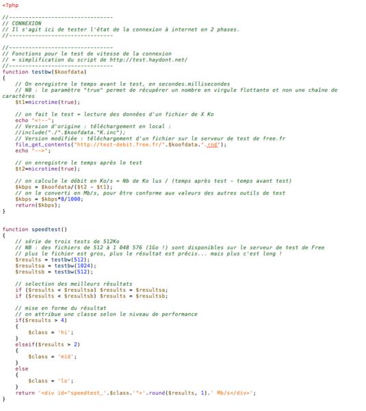 Un Tableau de Bord numérique – v2 !-Module Connexion