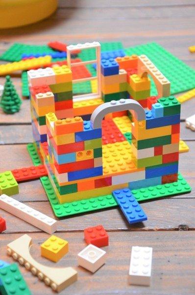 {DiY} Mangeoire à oiseaux LEGO®-L'assemblage des murs
