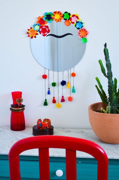 Le miroir de Frida Kahlo-Fini!