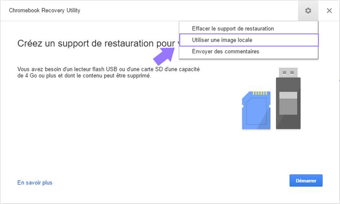 Redonnez vie à vos anciens ordinateurs avec Chrome OS-Créer une clé USB de démarrage pour votre ordinateur - partie 2